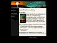 http://www.crossingintomedicinecountry.com/index.html