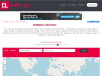 http://www.daftlogic.com/projects-google-maps-distance-calculator.htm