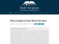 http://www.dailyscripture.net
