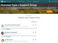 http://www.dailystrength.org/c/Diabetes-Type-1/support-group