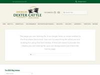 http://www.dextercattle.org/index.htm