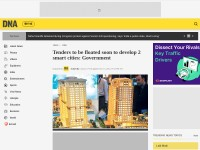 http://www.dnaindia.com/india/report-tenders-to-be-floated-soon-to-develop-2-smart-cities-government-2034869