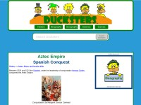 http://www.ducksters.com/history/aztec_empire/spanish_conquest.php