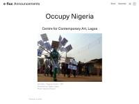 http://www.e-flux.com/announcements/occupy-nigeria/