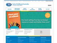 http://www.earlychildhoodaustralia.org.au/