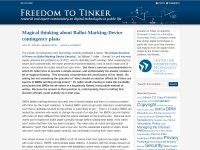 http://www.freedom-to-tinker.com/