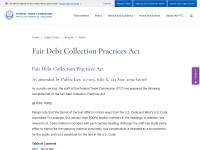 http://www.ftc.gov/enforcement/rules/rulemaking-regulatory-reform-proceedings/fair-debt-collection-practices-act-text