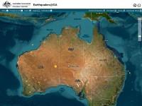 http://www.ga.gov.au/earthquakes/initRecentQuakes.do
