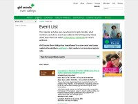 http://www.girlscoutsrv.org/events/