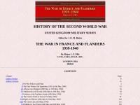 http://www.ibiblio.org/hyperwar/UN/UK/UK-NWE-Flanders/index.html#contents