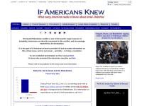 http://www.ifamericansknew.org/