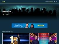 http://www.itv.com/beontv/tickets/