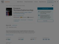 http://www.journals.elsevier.com/european-neuropsychopharmacology