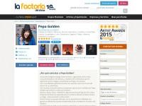 http://www.lafactoriadelshow.com/pepa-fernandez/#opiniones