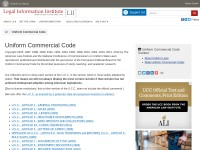 http://www.law.cornell.edu/ucc