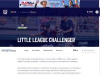 http://www.littleleague.org/learn/about/divisions/challenger.htm