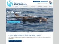 http://www.marinemammalscience.org/