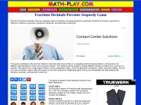 http://www.math-play.com/Fractions-Decimals-Percents-Jeopardy/fractions-decimals-percents-jeopardy.html