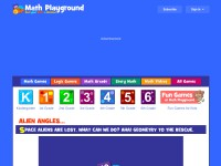 http://www.mathplayground.com/alienangles.html