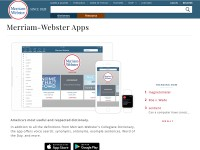 http://www.merriam-webster.com/dictionary-apps/android-ipad-iphone-windows.htm
