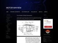 http://www.motormayhem.net/mode-a-ford-refrence-sheet/body-specifications/