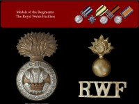 http://www.northeastmedals.co.uk/british_regiment/royal_welsh_welch_fusiliers.htm