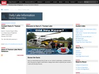 http://www.nwk.usace.army.mil/Locations/DistrictLakes/HarrySTrumanLake/DailyLakeInformation.aspx