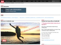 http://www.nwk.usace.army.mil/Locations/DistrictLakes/SmithvilleLake/DailyLakeInformation.aspx
