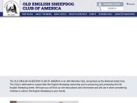 http://www.oldenglishsheepdogclubofamerica.org