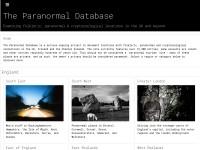 http://www.paranormaldatabase.com/