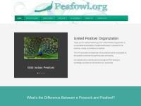 http://www.peafowl.org/