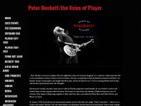 http://www.peterbeckett-player.com/