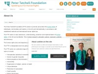 http://www.petertatchellfoundation.org/about