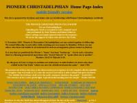 http://www.pioneerchristadelphians.org/index1.htm