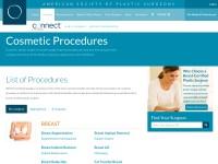 http://www.plasticsurgery.org/Cosmetic-Procedures.html