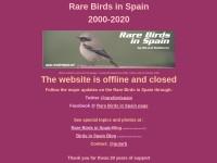 http://www.rarebirdspain.net/home.htm