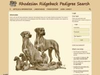 http://www.rhodesian-ridgeback-pedigree.org