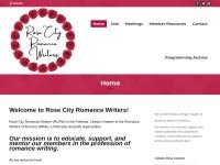 http://www.rosecityromancewriters.com/
