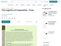 http://www.scribd.com/doc/81898517/The-Logistics-of-Cooperation-Final