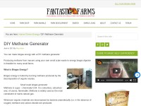 http://www.small-farm-permaculture-and-sustainable-living.com/methane_generator.html