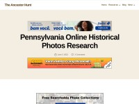 http://www.theancestorhunt.com/blog/pennsylvania-online-historical-photos-research