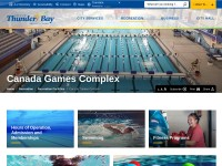 http://www.thunderbay.ca/Living/recreation_and_parks/Facilities/Canada_Games_Complex.htm