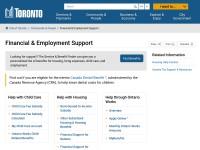 http://www.toronto.ca/socialservices/employmentservices.htm