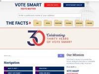 http://www.votesmart.org/