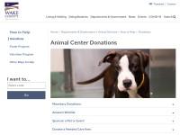 http://www.wakegov.com/pets/donations/Pages/default.aspx