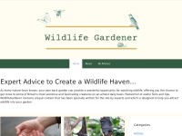 http://www.wildlifegardener.co.uk/