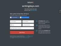 http://www.writingdays.com