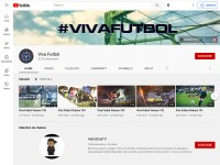 http://www.youtube.com/user/VivaFutbolAddict