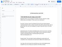 https://docs.google.com/document/d/1Gka5DLqDek23ehNMLECDueqBAjq4S2f3WVFqypzLeic/edit