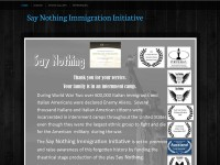 https://saynothingimmigrationinitiative.webs.com/
